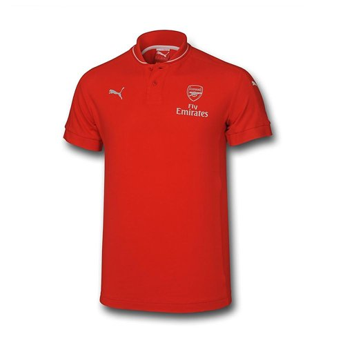 Polo Arsenal FC Puma Performance 2015-2016 (Rouge) - Enfants