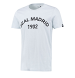 T-shirt Real Madrid Adidas Graphique 2015-2016 (Gris)