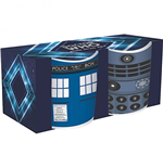 Doctor Who pack 2 mugs