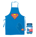 Superman Tablier avec Gant Logo