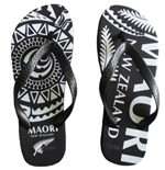 Tongs All Blacks Tribal