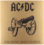 Vinyle Ac/Dc - For Those About To Rock