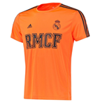 T-shirt Real Madrid Adidas 3S PES 2015-2016 (Orange)
