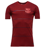 T-shirt Barcelone Nike Neymar Replica 2015-2016 (Rouge)