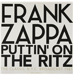 Vinyle Frank Zappa - Puttin' On The Ritz - New York 81 Vol.2 (2 Lp)