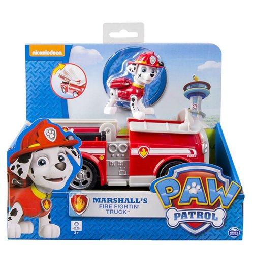 jouet la pat 39 patrouille camion de pompiers marshall pour seulement 18 99 sur merchandisingplaza. Black Bedroom Furniture Sets. Home Design Ideas