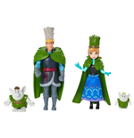 La Reine des neiges pack 2 poupées Troll Wedding