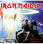 "Vinyle Iron Maiden - 2 Minutes To Midnight (7"")"