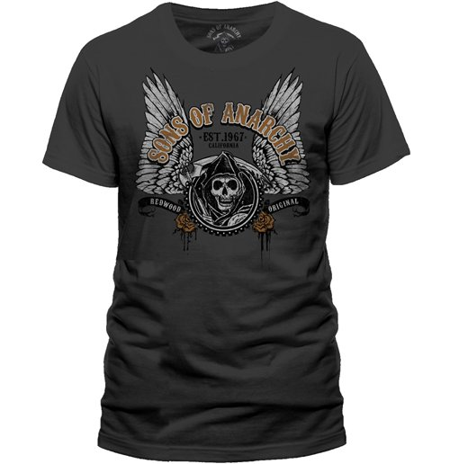 T-shirt Sons of Anarchy Logo Ailes