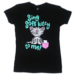 T-shirt Big Bang Theory: Sing Soft Kitty To Me