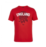 T-shirt Angleterre Rugby Rose 2015-2016 (Rouge)