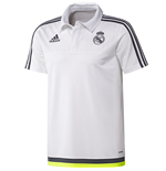 Polo Real Madrid Adidas CL 2015-2016 (Blanc)
