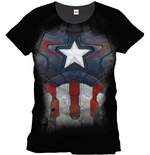 T-shirt The Avengers - Costume Captain America pour Hommes