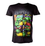 T-shirt Tortues Ninja - Bright Graffiti