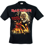 T-shirt Iron Maiden - The Number Of The Beast Graphic