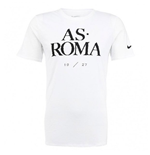 T-shirt AS Roma Nike Core 2015-2016 (Blanc)