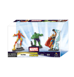 Marvel Comics pack 3 mini figurines Set A 10 cm