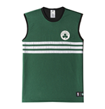 Débardeur Boston Celtics Adidas Summer Run Réversible 2015 (Vert)