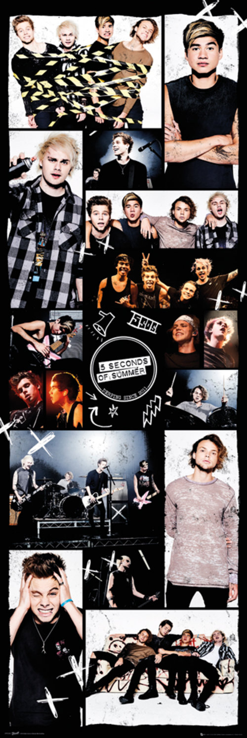 Poster 5 Seconds of Summer - Grid 2