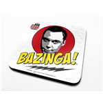 The Big Bang Theory pack 6 sous-verres Bazinga