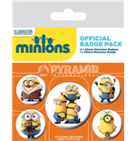 Minions pack 5 badges