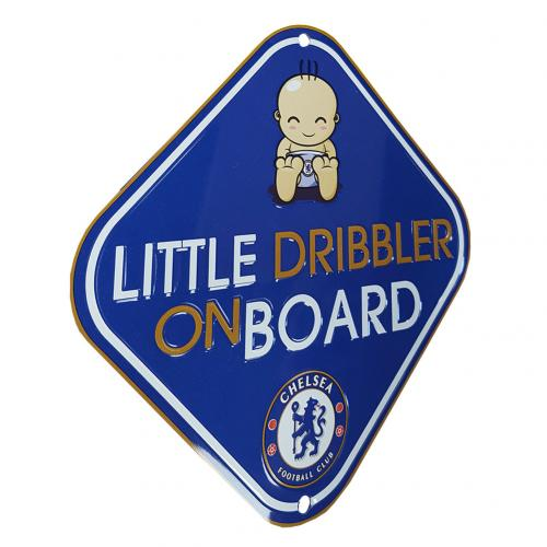 Plaque Chelsea FC Little Dribbler