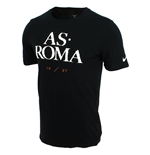 T-shirt AS Roma Nike Core Type 2015-2016 (Noir)