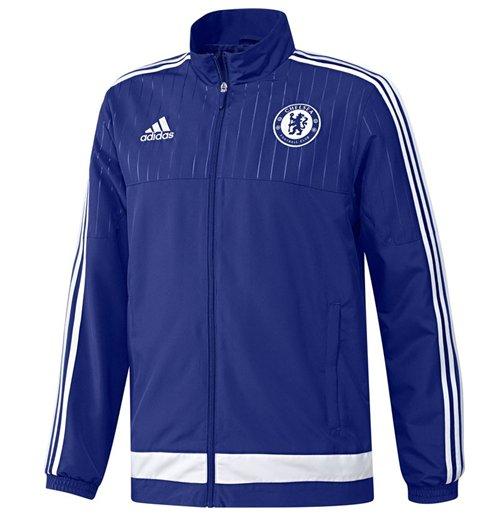 Veste Chelsea FC Adidas Prsentation 2015 2016 (Bleu)