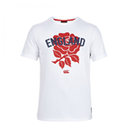 T-shirt Angleterre Rugby Rose 2015-2016 (Blanc)