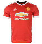 Maillot de Football Manchester United FC Adidas Home 2015-2016 (Enfants)