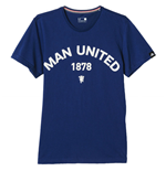 T-shirt Manchester United FC 2015-2016 (bleue)