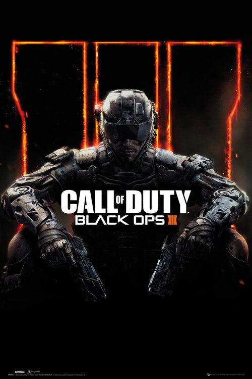 Poster Call Of Duty: Black Ops 3