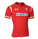 Maillot de Rugby Pays de Galles Home Gameday 2015-2016 (Rouge)