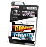 Ultimate Guard 25 intercalaires pour Comics Premium Comic Book Dividers Noir