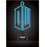 Doctor Who Lampe Neon Logo 20 x 44 cm