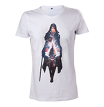 T-shirt Assassin's Creed Syndicate Evie Frye (Blanc)