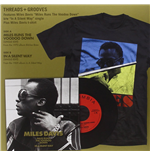 "Vinyle Miles Davis - Miles Runs The Voodoo Down / In A Silent Way (7"" & T Shirt Box Set)"