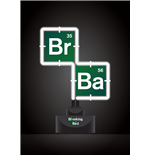 Breaking Bad Lampe Neon Logo 20 x 27 cm
