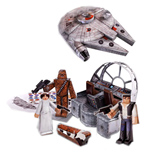 Star Wars set Papercraft Millennium Falcon Vehicle Pack