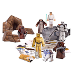 Star Wars set Papercraft Escape Pod Desert Pack