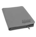 Ultimate Guard 8-Pocket ZipFolio XenoSkin Gris