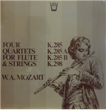 Vinyle Mozart Wolfgang Amadeus - Quartets For Flute And Strings: K 285b, 298, 285, 285a  - Redel Kurt  Fl/members Of The Koeckert Quartet
