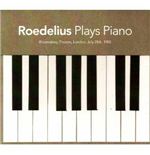 Vinyle Roedelius - Plays Piano