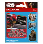 Star Wars Episode VII pack de 5 stickers vinyle Resistance