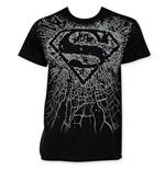 T-shirt Superman Shattered Logo
