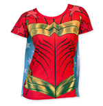 T-shirt Wonder Woman Costume + Cape