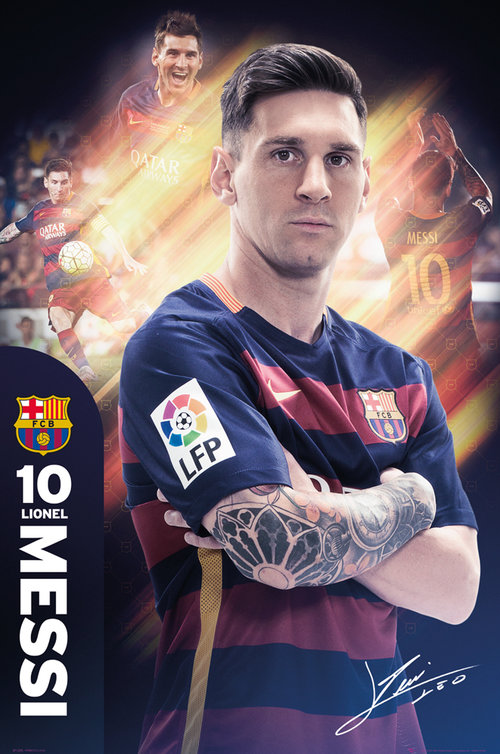 Poster FC Barcelone 175840