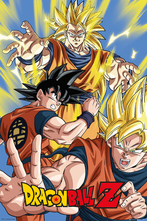 Poster Dragon Ball Z Goku