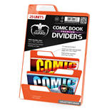 Ultimate Guard 25 intercalaires pour Comics Premium Comic Book Dividers Orange
