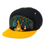 Pokemon casquette hip hop Snap Back Charizard